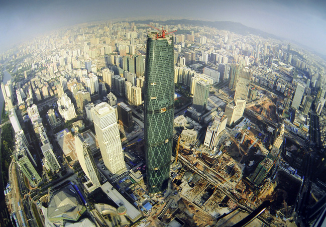 CTF financial center of Guangzhou-Guangzhou China