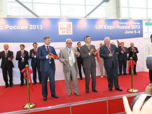 Exhibition Lift Expo Russia 2013