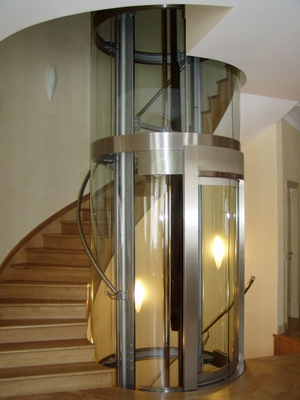 Panoramic elevator raisin home mitol llc for House elevator for sale